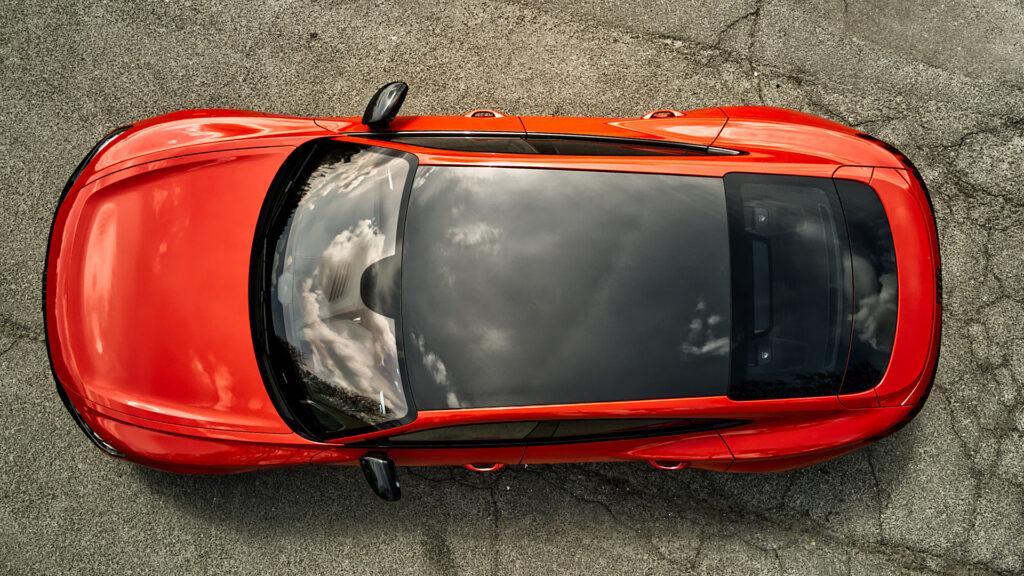 RS e-tron GT Carbondach